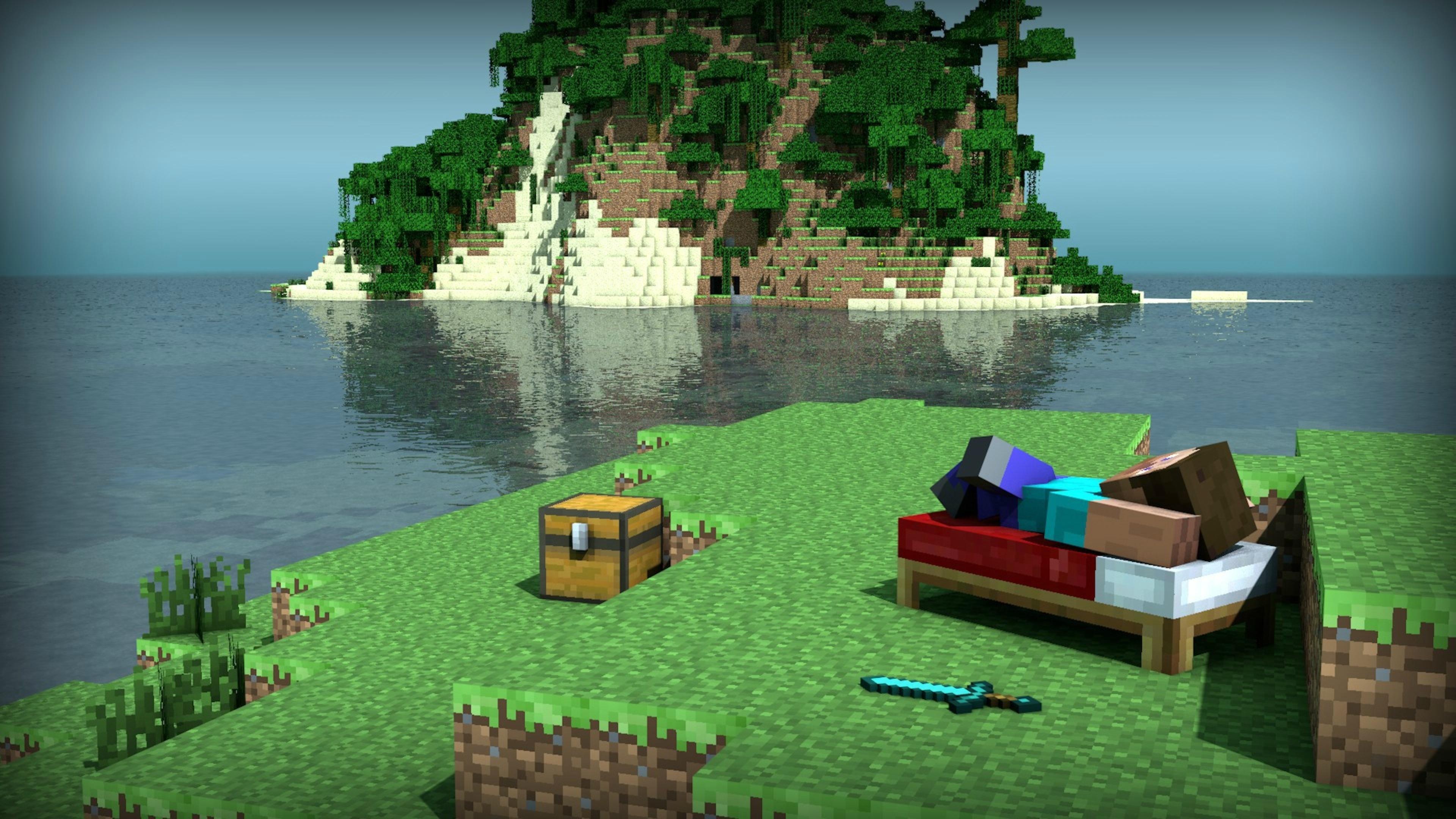 Minecraft Naar Buiten!