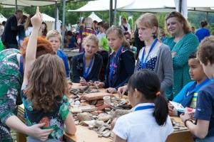 Romeinenweek: Archeologen aan het werk
